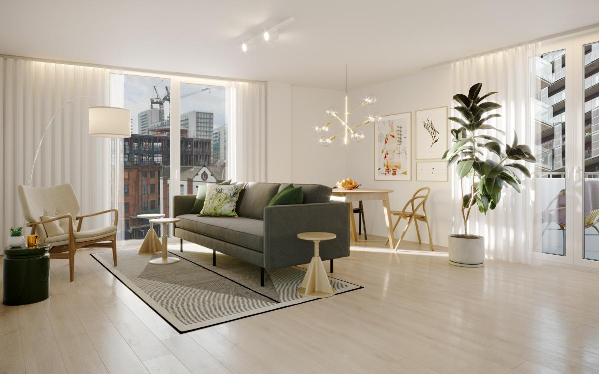 Picture of Apartment For Sale in Manchester, Greater Manchester, United Kingdom