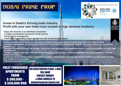 Property listed For Sale in Dubai, United Arab Emirates
